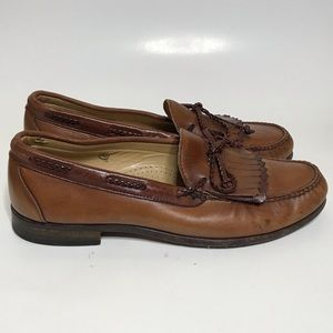 ALLEN EDMONDS Mens Woodstock Kilty Dress Shoes 11D
